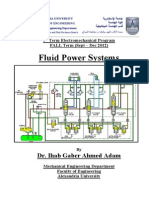 Fluid Power Systems for Electromech Prog 9th Term-Introduction