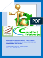 Monografia Capital de Trabajo - Adm Financiera