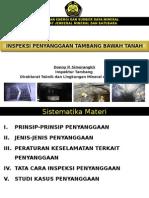 Inspeksi Penyanggaan Tambang Bawah Tanah_10April2012