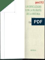 MARQUARD, ODO - Las Dificultades con la Filosofía de la Historia (Ensayos) [por Ganz1912]