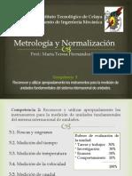 Metrología y Normalización - Competencia 3