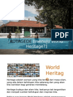 Kotagede World Heritage