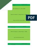 Cuadro de Doble Entrada - Clasificación Y Niveles, Por Autor Y Por Establecidos Por El Grupo, De La Investigación Científica
