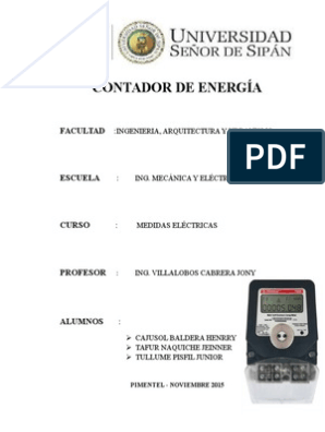 Medidor De Energía Elster Ei tipo de fase de 3 M