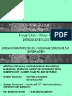 FARMAKOLOGI GASTROINTESTINAL Kuliah 1.ppt
