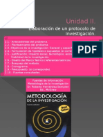 Unidad II Elaboración de Un Protocolo