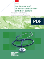 The Performance of Public Health-care Systems in South-East Europe