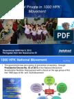 Role of Private in 1000 HPK Movement (Februari 2015)