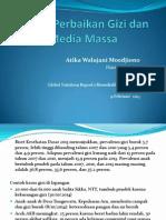 Upaya Perbaikan Gizi dan Media Massa (Februari 2015)