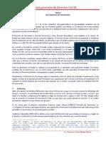 APUNTES DERECHO CIVIL III