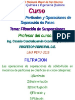 Flitracion de Suspensiones