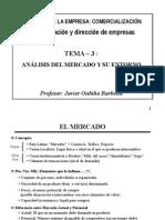 Tema 3 - Mercado y Entorno