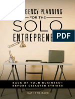 Emergency Planning for the Solo Entrepreneur