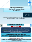 Program Imunisasi Ibu Hamil, Bayi dan Batita di Indonesia (Maret 2015)