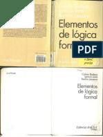 Badesa - Elementos de Lógica Formal