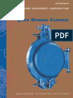 Quick Opening Closures
