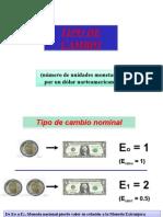Balanza de Pagos-Tipo de Cambio-2012