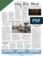 The Daily Tar Heel from Nov. 12, 2015