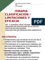 UPT-S.3-CPT PSICOTERAPI Clasif. Limitac. Eficacia.