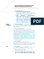 Form Kaji Ulang Rup Rpp Pengadaan Konstruksi