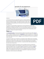 Métodos de Impresión de Una Impresora