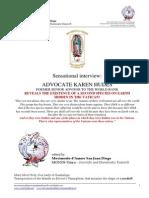 UK MONOS 2014 Lug 22 Esistenza Di Una Seconda Specie Sulla Terra Nascosta in Vaticano
