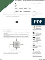 Principal stress, Principal plane & Mohr's circle analysis ~ Learn Engineering