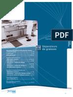 Catalogue Separateurs Graisses Fecules