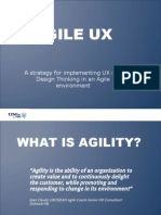 DStv Labs - Agile UX - 20 April 2011