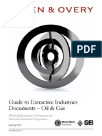 World Bank Extractive Industries Programme - Oil & Gas Guide