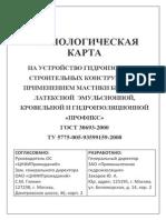 Profix Tehnologicheskaya Karta