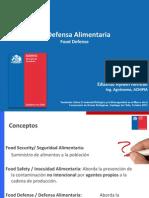 Capacitación Food Defense