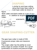Gear Shaping