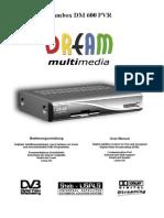 User Manual Dm600pvr