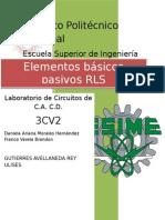 Practica 5 circuitos de CA y CD ESIME Zacatenco