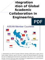 2015 ASEAN Integration Adoption of Global Academic Collaboration