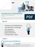 Introduction to ClickSoftware