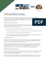 PCI Announcements 12915