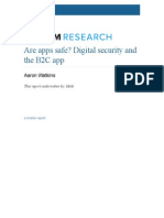 Are Apps Safe Digital Security and the b2c App