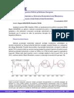 Nota Cu Privire La Situatia Economica Din Moldova Analiza Unor Indicatori Economici