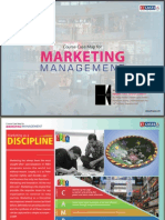 Marketing Management Course Case Map