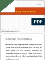 11-Membuat Press Release