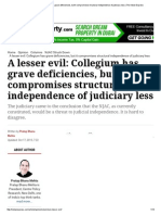 A lesser evil_ Collegium has grave deficiencies, but it compromises structural independence of judiciary less _ The Indian Express.pdf