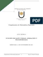 Apunte de Clase. Función Escalón Unidad. Operación y Transformada..pdf