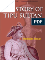 History of Tipu Sultan by Mohibbul Hasan