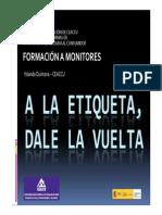 Formación de formadores sobre el Reglamento UE 1169/2011 de información alimentaria al consumidor