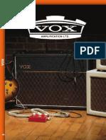 Vox Catalogo 2014