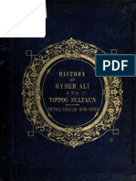 The History of Hyder Shah, Alias, Hyder Ali Khan Bahadur, And of His Son, Tippoo Sultan