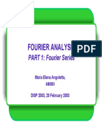 Fourier Analysis