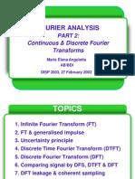 Fourier Analisys II